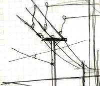 utility lines @ 9th & y, lincoln, nebraska