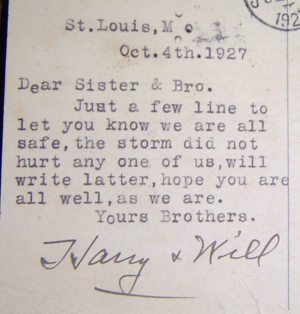 Dear Sister & Bro.