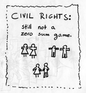 civil rights: still not a zero sum game